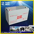 almacenamiento 12v 105ah de la batería