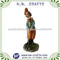 resina payaso decoración de figuras