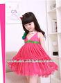 2014 ropa de niño vestidos de verano al por mayor de color rojo niño ropa de vestir falda chaleco chino fabricantes de ropa