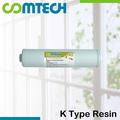 K tipo de purificador de agua en- línea de resina de agua del filtro