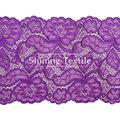 16-20 cm de nylon con spandex elástico tela de encaje precios para lencería