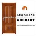 sólido de madera de madera puerta de entrada de la hoja/moderno de madera de la puerta diseños