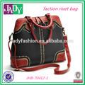 facción 2014 bolsa para dama de china facción del remache femenino bolsa bolsa de hombro bolso personalizado
