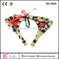 leopardo diadema orejas de los animales de la selva accesorio de disfraces