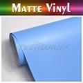 TeckWrap etiqueta do carro Hot Sale 1.52x20M 5x65FT 3 cores azul fosco vinil para o acondicionamento de carros