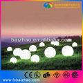 bolas de luz decoración