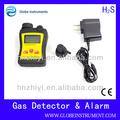 portátil portátil h2s de gas glp detector de gas detector de fugas de glp para