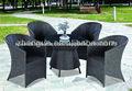 mesa y sillas de mimbre muebles de mimbre