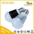 grado 270 smd5730 a19 de alta potencia de venta al por mayor 5w e27 220 voltios bombillas led