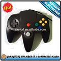 La más grande fábrica del controlador a todo mundo para gamepad joystick n64, para n64 juegos