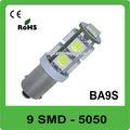 Ba9s 12V 9 SMD coche led luz