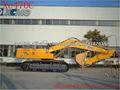 Xe470c 46 toneladas xcmg excavadora de rc con 1. 9- 2. 3m3 cubo para excavadora jardín excavadora cummins motor