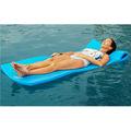recubiertos de vinilo de cruce de la piscina flotador lounge equipo de recreación de las piscinas de natación piscina de espuma