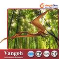 Vg1166- diversão playground playground dinossauro dos desenhos animados