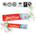 de color blanco crema de pasta de dientes