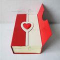 costumbre papel de la cartulina caja de regalo