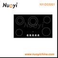 Nuoyi 5 quemadores construido- en la cocina/estufa de cerámica/estufa de gas tabla de diseño/de cerámica cocina multi ny-ds5001
