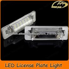 [H02016] LED Luz de la matrícula for Mercedes-BENZ W210(4D) W202(4D) Facelift license plate light