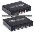 AV y HDMI a HDMI convertidor Upscaler