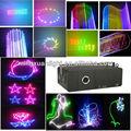 hermosa 1000mw rgb animación navidad luces de láser