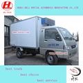 Vender mini foton 4*2 refrigerado van caminhão com o melhor preço