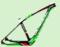 carbono mtb cuadro de bicicleta
