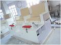 profesional de la fábrica de mármol artificial nail salon mesa salón de mesa de manicura