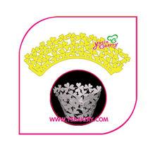 personalizada envolturas de la magdalena al por mayor para la torta decorativos