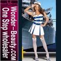 vestido de traje blanco de marinero sexy novia