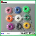 ortho denxy fabricante elástica de ortodoncia dental ortodoncia elástica de la cadena de alimentación