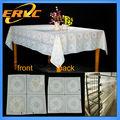 venta al por mayor de la boda de pvc mantel mantel de plástico rollos