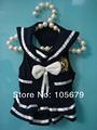 A1006 verão vendendo White Blue Dog Pet roupas Marinha Saia Nova fábrica produz transporte rápido