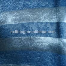 100% ployester jacquard raya de la pila de moda diseño de la cortina