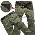 Pantalones ocasionales 2013 de los hombres al por mayor de la fábrica