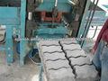 Ladrillos de cemento que hace la máquina