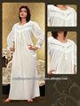 Arábica vestido de las señoras/musulmán más el tamaño de camisón/abaya nuevo