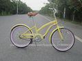 20polegadas especializada venda quente amarela da cidade de bicicleta para a senhora