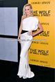 2014 elegante de raso blanco negro fajines sirena vestido de noche 2014 de grasa para las mujeres zc-27
