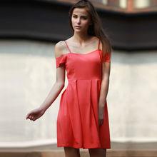 YIGELIL 2013 Las mujeres de moda hombro vestido de fiesta 6428
