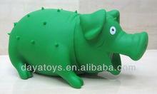 juguetes de plástico de cerdo, animal con forma de exprimir juguetes