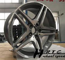 Nuevo! 2014 nuevo diseño negro/cromo amg réplica del coche llanta de la rueda