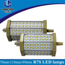 AC230V 4500k 12w 20w 135mm 118mm Lámparas Led r7s
