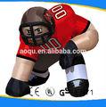 Fabricante de personajes inflables/de rugby inflable modelo de hombre para la promoción
