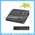 Equipo de audio profesional 8- canal de audio usb con mezclador amplificador( mx- 806d)