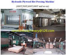caliente máquina de la prensa para indonesia de madera contrachapada