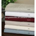 100% venta al por mayor de algodón egipcio de tela para ropa de cama