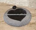 jardín decorativo pileta de piedra
