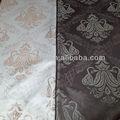 diseño de la flor de cuero como tapicería de tela en blanco y negro