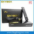original cccam f5 skybox receptor de satélite hd iptv set top box