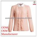 la moda de primavera blusa rosa para las damas